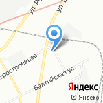 Березка на карте Санкт-Петербурга