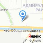 УНР-524 ПОЛИМЕРТЕПЛО на карте Санкт-Петербурга
