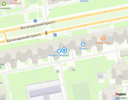 Жилищно-строительный кооператив «ЖСК-1029» на карте Санкт-Петербурга
