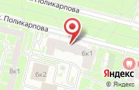 Схема проезда до компании Танцующий Город в Санкт-Петербурге