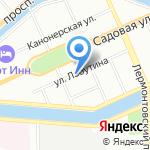 ЛИК на карте Санкт-Петербурга