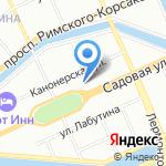 Coral Elite Service на карте Санкт-Петербурга
