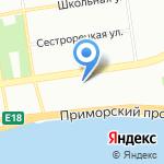 Империя Солнца на карте Санкт-Петербурга