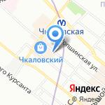 СтройТехЭкспертиза на карте Санкт-Петербурга