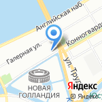 Модикус на карте Санкт-Петербурга