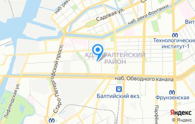Местоположение на карте пункта техосмотра по адресу г Санкт-Петербург, ул Курляндская, д 2/5 литер б