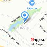 ДАМАО на карте Санкт-Петербурга
