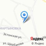 Озерковский 55 на карте Санкт-Петербурга