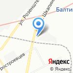 Лаггар на карте Санкт-Петербурга