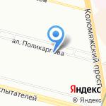 Манго на карте Санкт-Петербурга