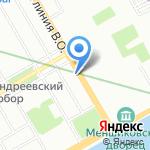 Свободное время на карте Санкт-Петербурга