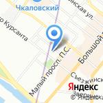 ТВКОМ МА на карте Санкт-Петербурга