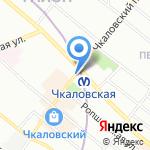 Союз издателей и распространителей на карте Санкт-Петербурга