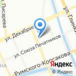 Инвест-Проект на карте Санкт-Петербурга