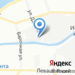 Центральное на карте Санкт-Петербурга