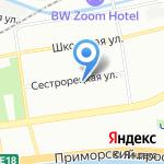 Адвокатский кабинет Булгакова Е.А. на карте Санкт-Петербурга