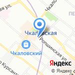 Street Story на карте Санкт-Петербурга