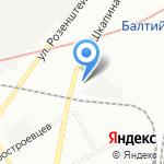 Avtoglass & Parts на карте Санкт-Петербурга