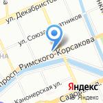 СДОБА на карте Санкт-Петербурга