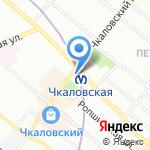 Метропресс на карте Санкт-Петербурга