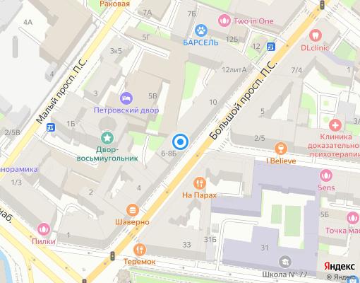 Управляющая компания «Жилой Квартал» на карте Санкт-Петербурга