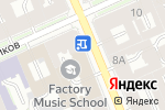 Схема проезда до компании Экспертно-криминалистическое бюро в Санкт-Петербурге