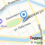 Glass Work на карте Санкт-Петербурга