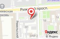 Схема проезда до компании Алтида-Недвижимость в Санкт-Петербурге