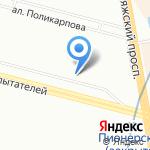 Компания по изготовлению печатей и штампов на карте Санкт-Петербурга