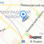 Нестор-История на карте Санкт-Петербурга