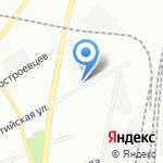 Скайтек на карте Санкт-Петербурга