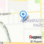 Государственный региональный центр стандартизации на карте Санкт-Петербурга