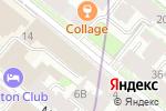Схема проезда до компании Honest в Санкт-Петербурге
