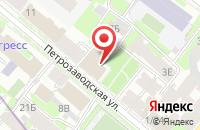Схема проезда до компании Нестор-История в Санкт-Петербурге