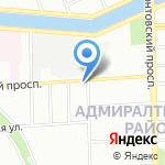 Кифато на карте Санкт-Петербурга