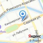Наркологический реабилитационный центр №5 на карте Санкт-Петербурга