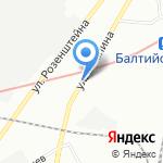 Наша семья на карте Санкт-Петербурга