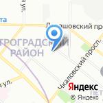 Психоневрологический диспансер №4 на карте Санкт-Петербурга