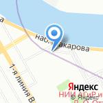 ПМП на карте Санкт-Петербурга