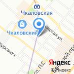 SpaceIQ на карте Санкт-Петербурга