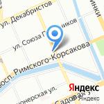 Ретро-винтаж на карте Санкт-Петербурга
