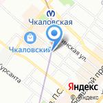 ГлэДис на карте Санкт-Петербурга