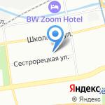 Аквабосс на карте Санкт-Петербурга