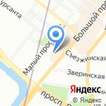 Дентал РУ на карте Санкт-Петербурга