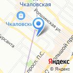Средняя общеобразовательная школа №50 на карте Санкт-Петербурга