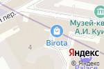 Схема проезда до компании HIPSTER COFFEE в Санкт-Петербурге