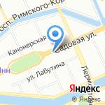 Ноян-Ковчег на карте Санкт-Петербурга