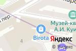 Схема проезда до компании Hottabych в Санкт-Петербурге