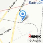 Гласскон на карте Санкт-Петербурга
