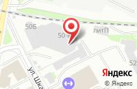 Схема проезда до компании Оптима в Санкт-Петербурге